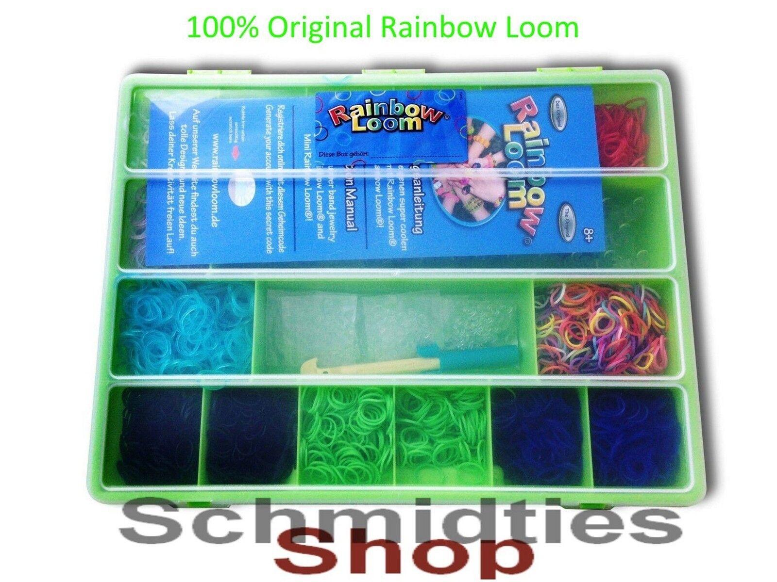 Rainbow Loom® Große Geschenkbox mit sehr viel Zubehör (Grün)