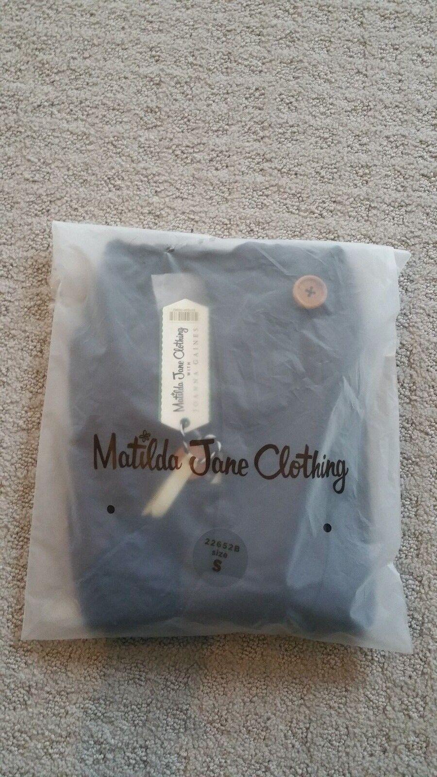 Matilda Jane Joanna Gaines Sweet Simple Maxi Skirt Womens Small S Charcoal NWT