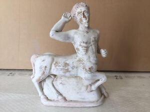 Riproduzione statua TERRACOTTA ST70 34 cm scultura greco romano antico