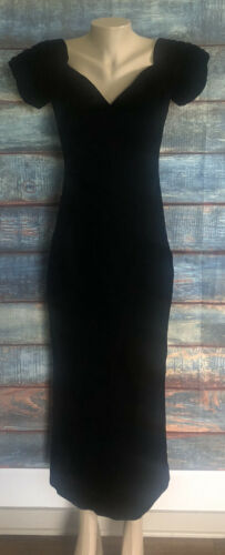 Vintage Velvet Dress - Eugene Alexander Size 10
