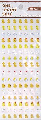 One Point Seal Made in Korea Scrapbooking Sticker Sheet (Your Choice)~KAWAII!!