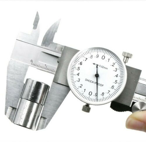 0-150mm Shock-proof Dial Calipers Stainless Steel High Precision Gauge Tool