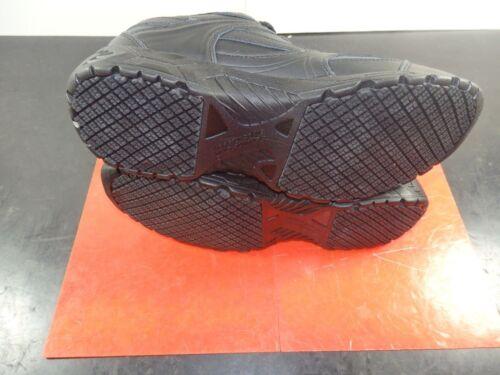 Genuine Grip Plain Work Shoes Black Sz 7 M Women/'s 1110