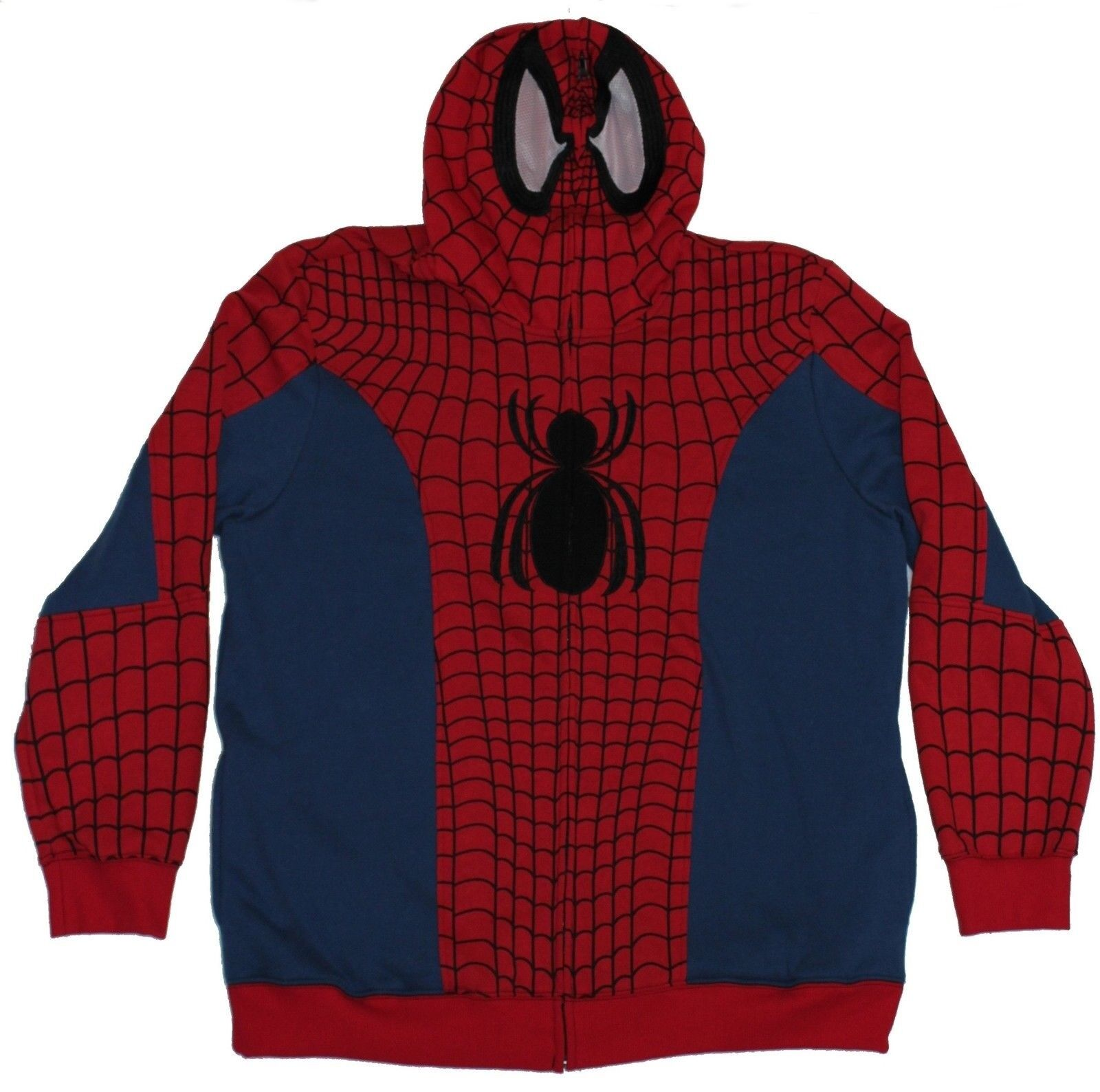 Spider-man (Marvel Comics)  Herren Hoodie- Costume Front Fat Spider Logo