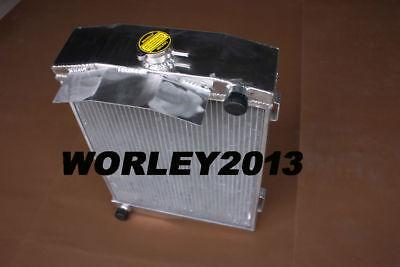 62mm For AUSTIN HEALEY 3000 1959-1967 66 65 64 63 62 61 Manual aluminum radiator
