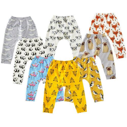 Neugeborenes Baby Kinder Jungen Mädchen Lang Hose Sweaterhose Sporthose Pumphose