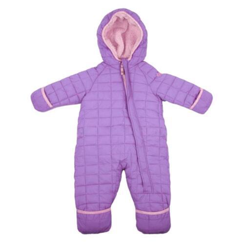 Snozu Weatherproof Fleece Lined Hooded Snowsuit For Baby Girls