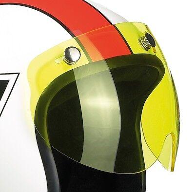 BANDIT kurzes Visier SHORTY kurz für Jethelm Helm 777 Jet GELB 3 Knopf | eBay