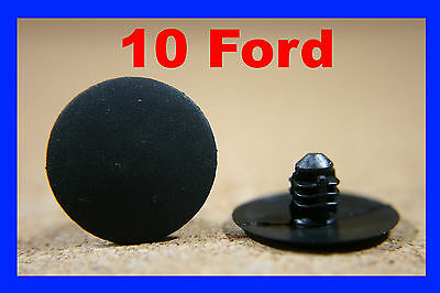 10 Ford hood bonnet trim seal insulation lining panel fastener clips