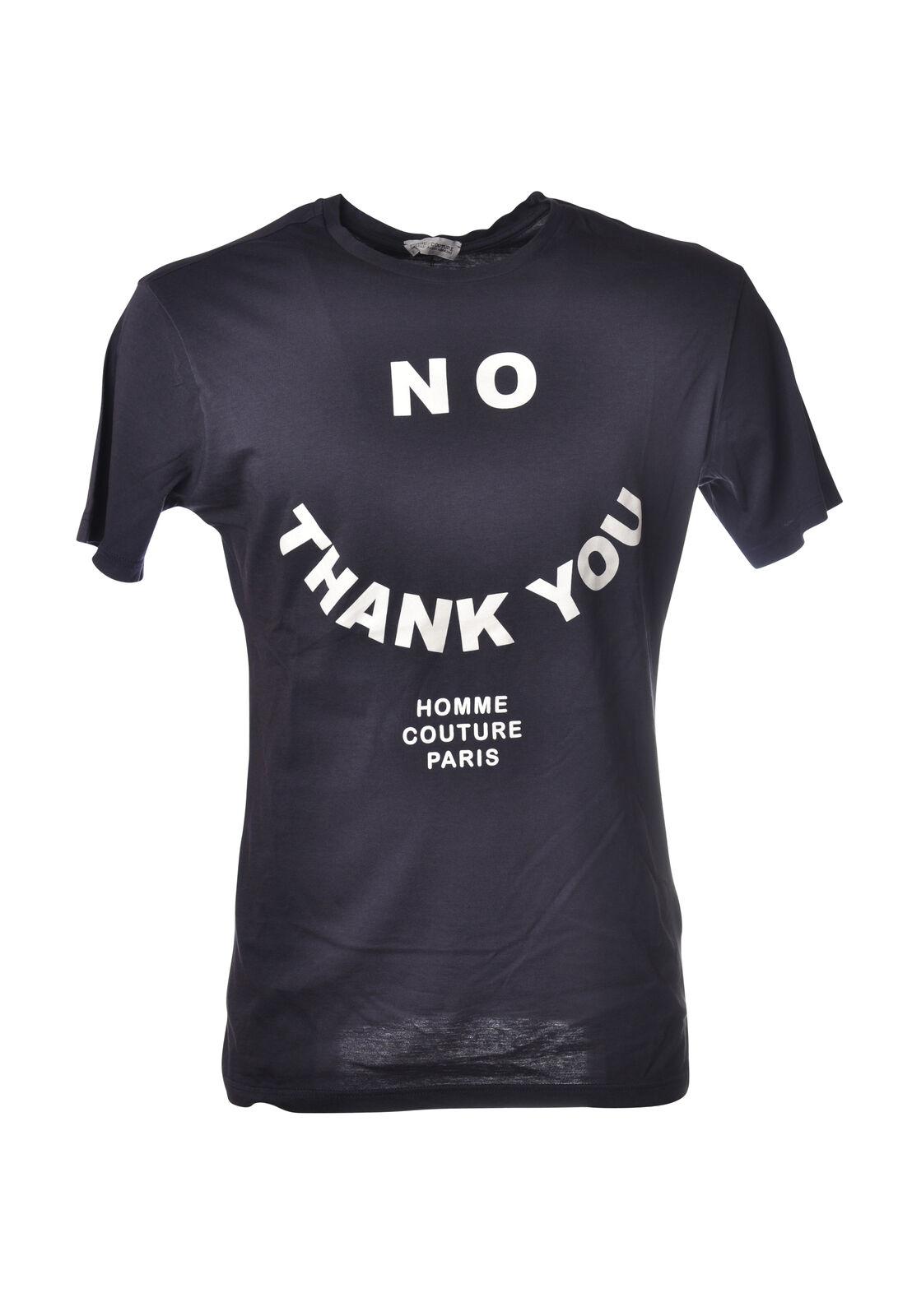 Daniele Alessandrini - Topwear-T-shirts - Mann - blue - 5290531G184127