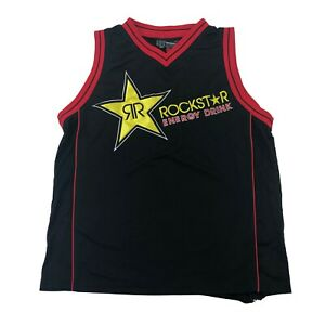 Rockstar-Energy-Basketball-Jersey-69-One-Industries-Mens-Large-Motocross-Black