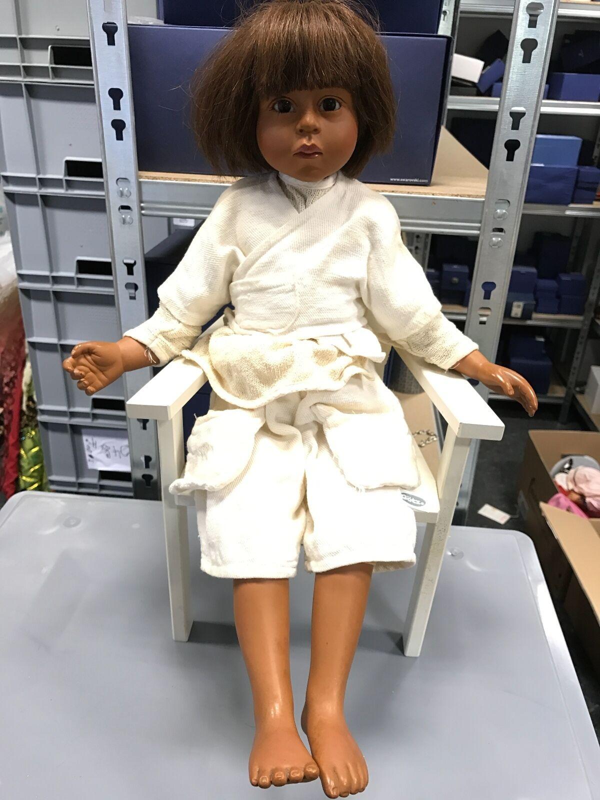 Philip Heath vinile bambola 55 CM. firmato ottimo stato