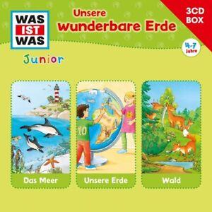 WAS-IST-WAS-JUNIOR-3-CD-HORSPIELBOX-VOL-2-ERDE-TESSLOFF-3-CD-NEU