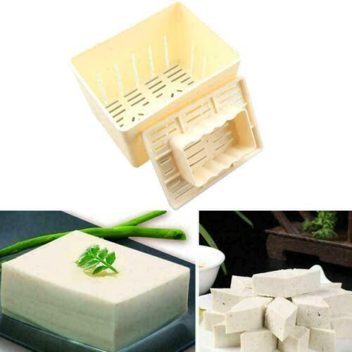 Tofu Maker Presse Mold Kit Käse Tuch DIY Soja Pressformen Küchenwerkzeug Neu