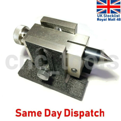 Rotary Tables 100 mm 75 mm /& 4 Inches Small Lathe Tailstock for 3 Inches