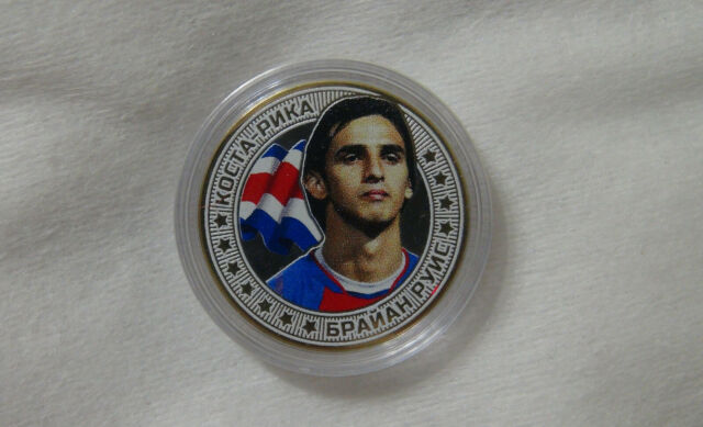 football legend Mexico Russia 10 rubles Javier Hernández