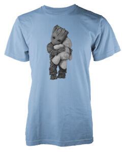 Groot Hug Teddybär Superheld Erwachsene T Shirt