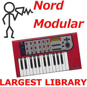 Nord Modular G1 G2 Micro Largest Patch Sound Program Library 70,000+ D0wnl0ad