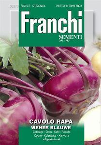 Franchi Seeds of Italy  DBO 323  Kohl rabi  Wener Blauwe  Seeds - Wrexham, United Kingdom - Franchi Seeds of Italy  DBO 323  Kohl rabi  Wener Blauwe  Seeds - Wrexham, United Kingdom