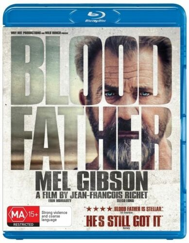 1 of 1 - Blood Father (Mel Gibson) : NEW Blu-Ray