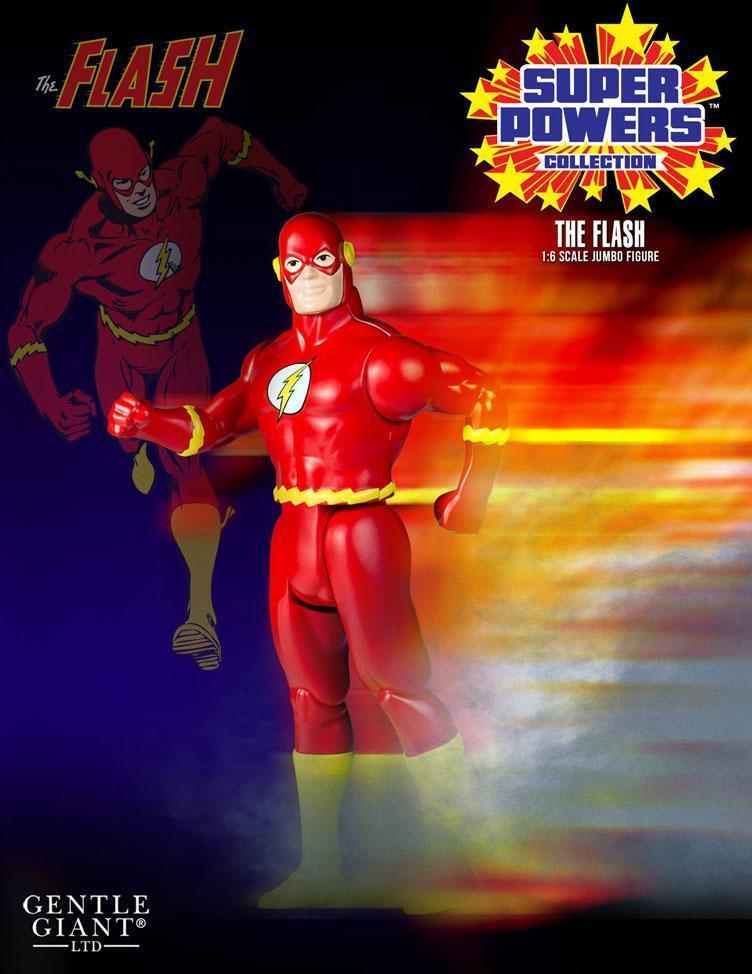 DC Gentle Giant Super energias Vintage Jumbo The Flash azione cifra
