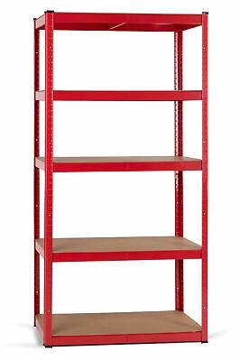 2 stabile Regale in Rot für Werkstatt Keller /& Speisekammer mit je 5 Böden