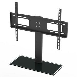 TV-Stand-Base-With-Universal-Swivel-Mount-And-Height-Adjustable-For-32-034-55-034-TVs