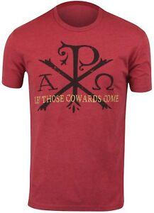 low priced e3873 459ff Details about Ranger Up Herren Let Diese Cowards Venir Militär T-Shirt - Rot