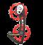 CyclingCeramic oversize carbon cage For Shimano R8000//DA9100//9150