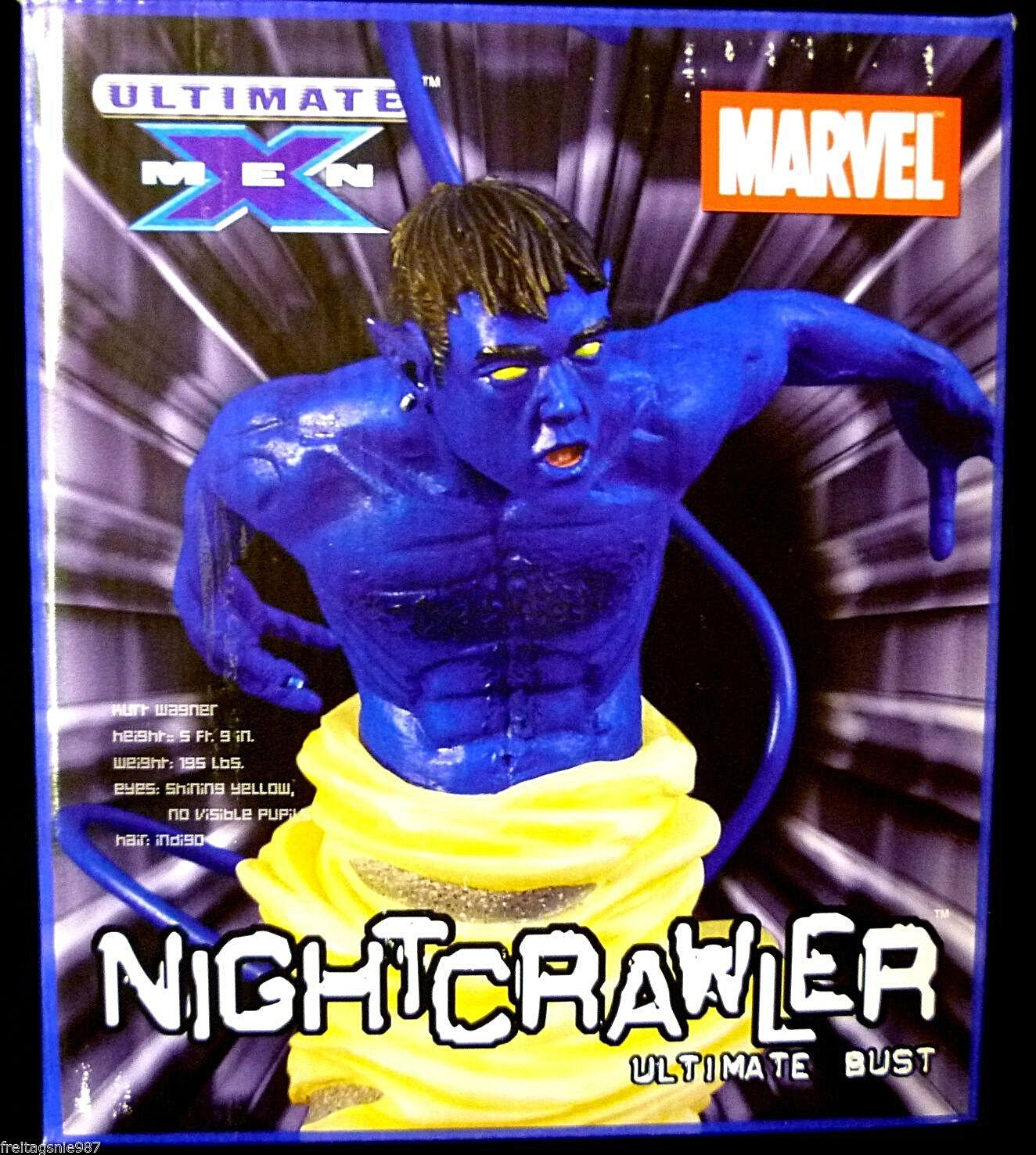 ULTIMATE ULTIMATE ULTIMATE X-MEN NIGHTCRAWLER  Marvel  bust 16cm ltd 5000 Diamond 4b388c