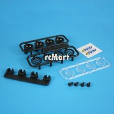 RPM Bumper Light Canister Set Black For Traxxas Slash 4x4 2WD 1:10 RC Car #80982