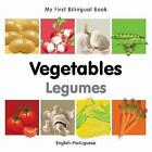 My First Bilingual Book-Vegetables (English-Portuguese) von Milet Publishing (2011, Gebundene Ausgabe)
