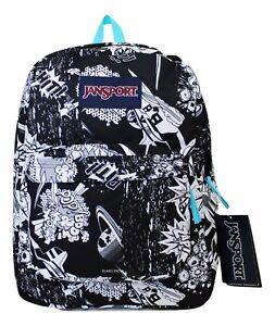 Image is loading NWT-Jansport-Superbreak-Student-Backpack-Book-Bag-School- 85744417a7a8f