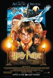 HARRY-POTTER-AND-THE-PHILOSOPHER-039-S-STONE-POSTER-A5-A4-A3-A2-A1-options