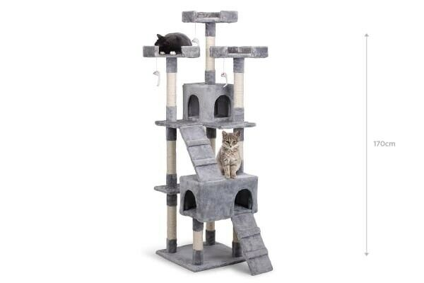 Pawever Pets Cat Scratching Post Tree (Large)