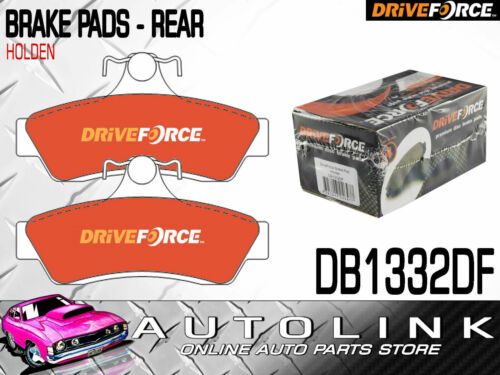 BRAKE PADS DB1332DF REAR FOR HOLDEN COMMODORE VT VX VY VZ 9//1997-8//2006