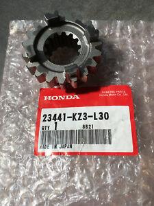 HONDA-ingranaggio-CR250-23441-KZ3-L30-terza-3a-19T-third-mainshaft-2003-gt-2007