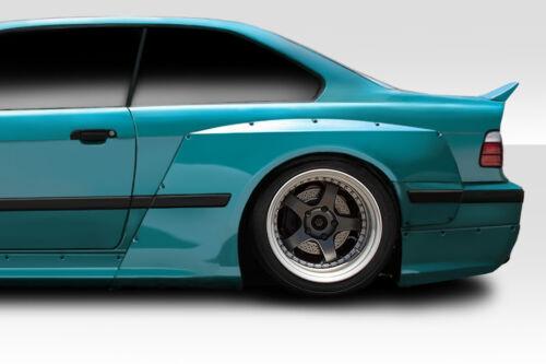 2 Piece 1992-1998 BMW 3 Series M3 E36 2DR Duraflex Circuit Rear Fender Flares