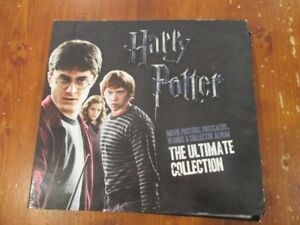 HARRY-POTTER-The-Ultimate-Collection-Movie-posters-postcards-wands-with-album