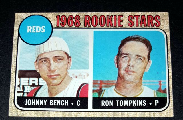 1968 Topps Johnny Bench 247 Baseball Card