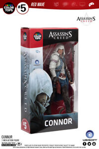 Assassins Creed Connor Red Wave #5 Color Tops 18 cm Action Figur McFarlane