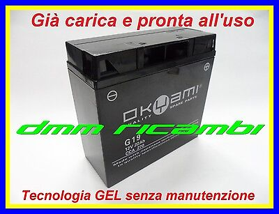 Batteria OKYAMI SLA Gel BMW K 1200 RS 96>05 K13 carica pronta all'uso 1996 2005