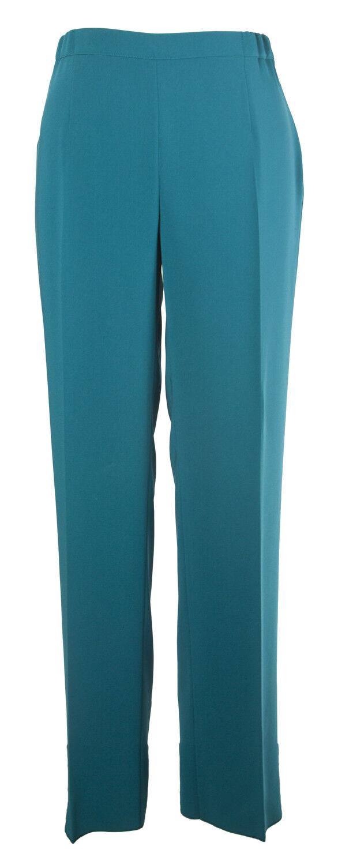 Marina Rinaldi Donna Colore Foglia di Tè Ricerca Classica Pantaloni