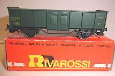 Rivarossi HO-Güterwagen Typ E (Belgien)-OVP-open freight car type E Belgian rail