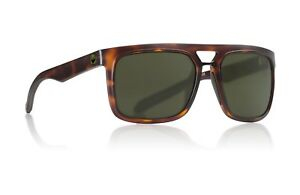 New Dragon Aflect Sunglasses Matte Tortoise/Green Lens 32734-244 RRP $180