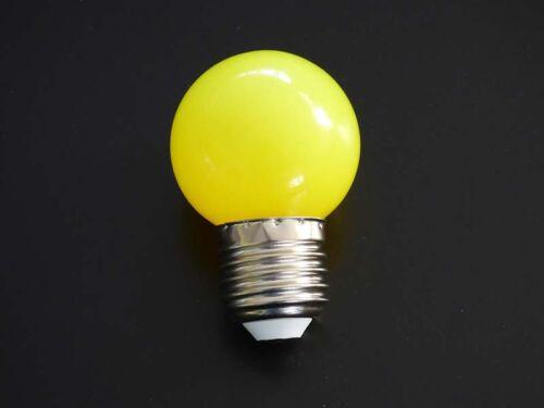Led Tropfen Lampe Glühlampe 1W E27 Lichterketten Deko Garten 230V .#2233