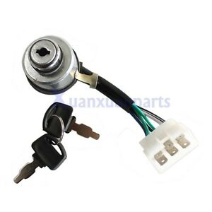 Generator Ignition Key Switch For Duromax Xp4400e Xp4400eh Xp8500e