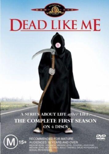1 of 1 - Dead Like Me : First Season 1 (DVD, 2007, 4-Disc Set) Like New, Aus Region 4