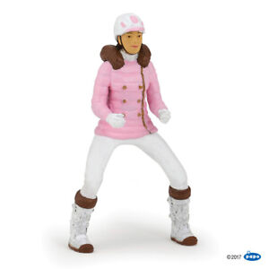 Papo 52007 Young Trendy Riding Girl Figure