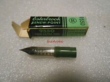 """Boxed Mint New Old Stock ESTERBROOK 9450 /""""Extra Firm Posting/"""" Nib"""